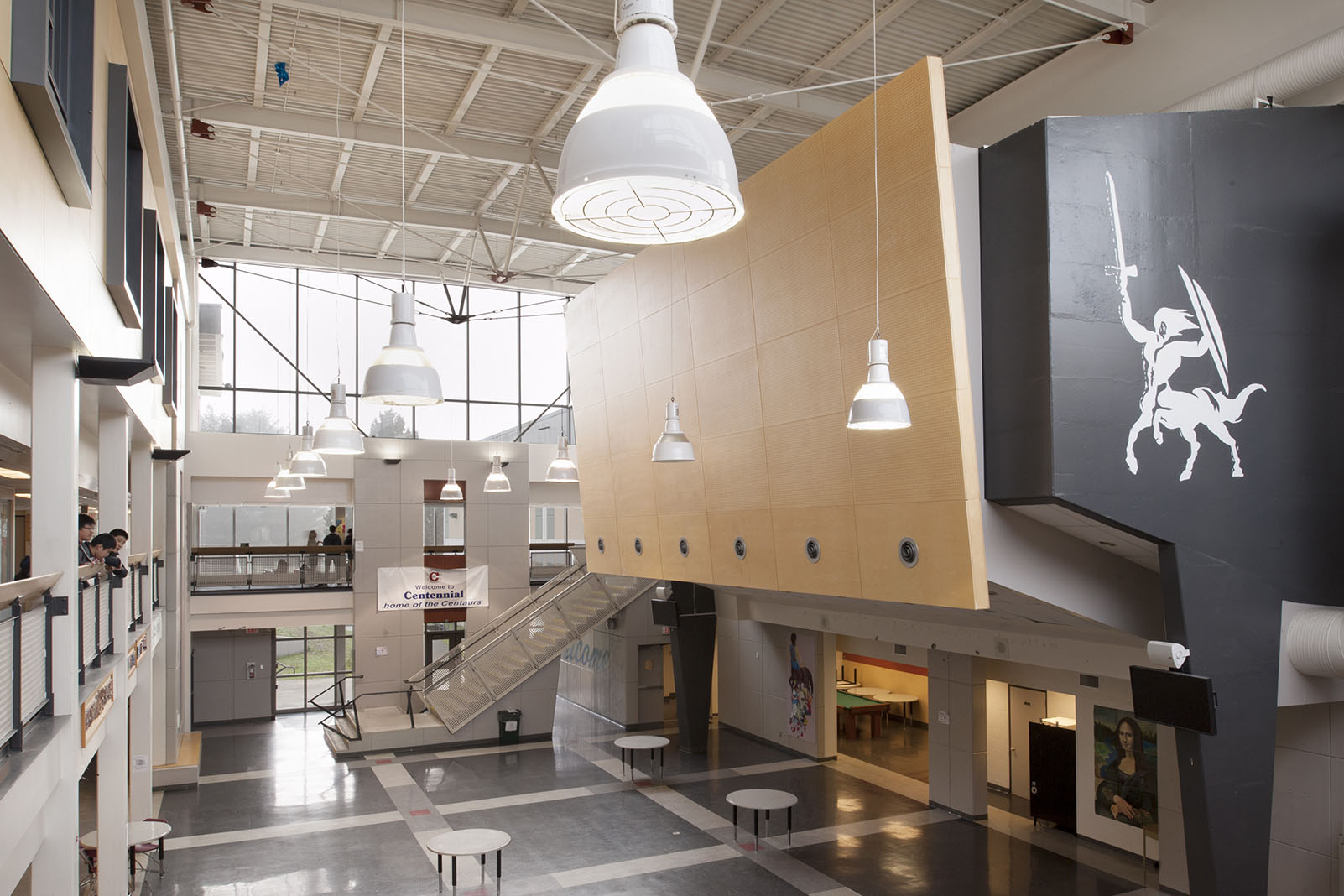 Centennial Secondary Seismic Upgrade — After